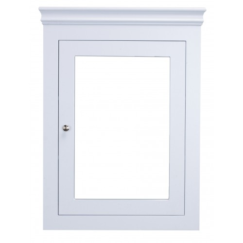 Eviva New York 24 inch White Wall Mount Medicine Cabinet