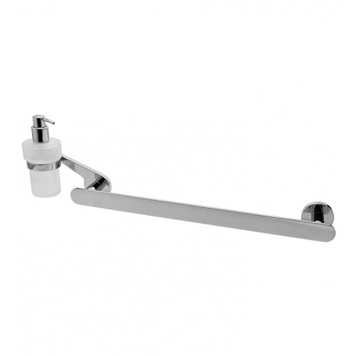 Graff G-9211 Towel Bar and Soap Lotion Dispenser