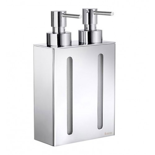 Smedbo FK258 Outline Soap Dispenser Wallmount in Polished Chrome
