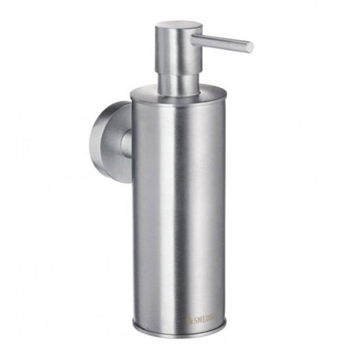 Smedbo HS370 Home Soap Dispenser Wallmount in Brushed Chrome