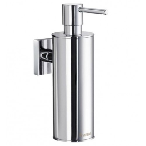 Smedbo RK370 House Soap Dispenser Wallmount in Polished Chrome