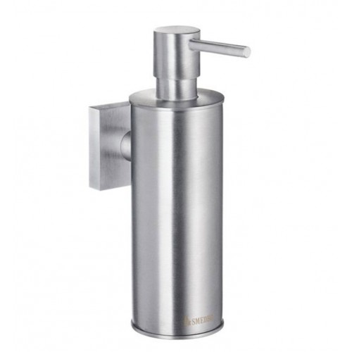 Smedbo RS370 House Soap Dispenser Wallmount in Brushed Chrome