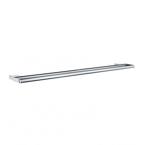 Smedbo AK3364 Air Towel Rail Double in Polished Chrome