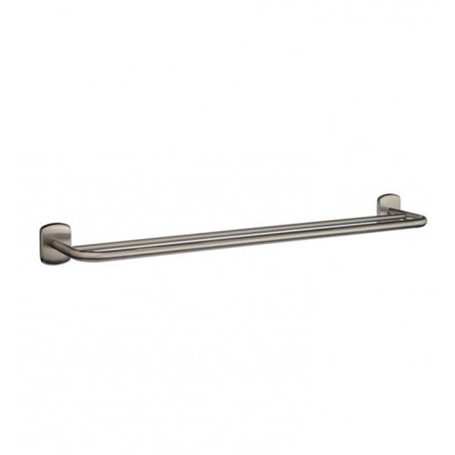 Smedbo C3364N Cabin Towel Rail Double in Brushed Nickel