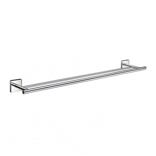 Smedbo RK3364 House Towel Rail Double in Polished Chrome