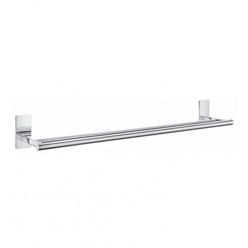 Smedbo ZK3364 Pool Towel Rail Double in Polished Chrome