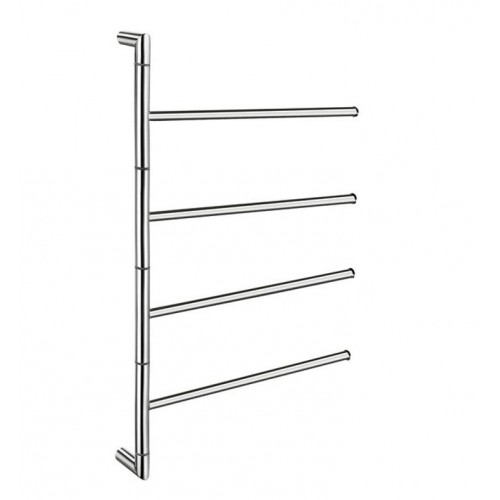 Smedbo FK634 Ouline Towel Rail Swing-Arm in Polished Stainless Steel