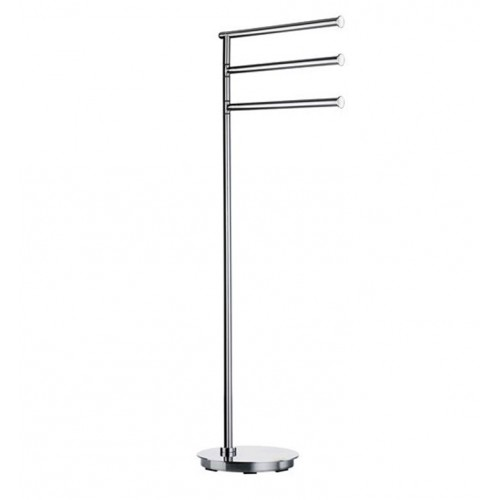 Smedbo FK608 Outline Towel Rail Free Standing in Stainless Steel Polished
