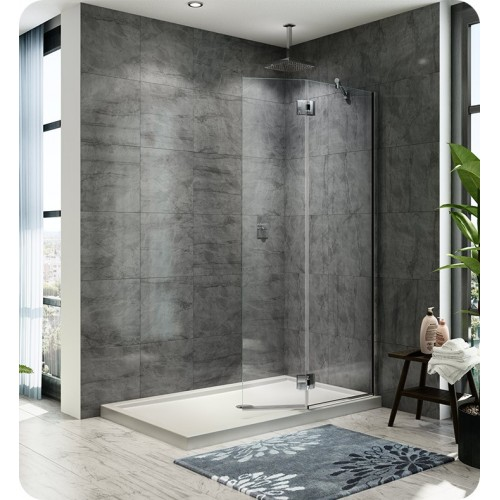 Fleurco VW4301 Evolution 4' Shower Shield with Square Top