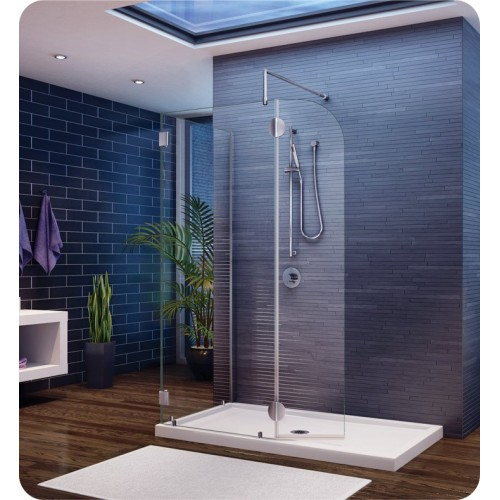 Fleurco V4302 Evolution 4' Shower Enclosure V4302 with Round Top