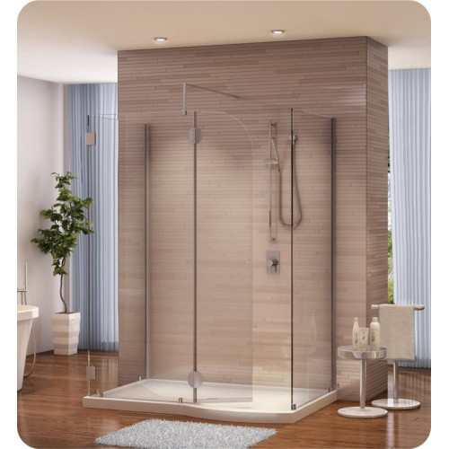 Fleurco V56302 Evolution 5' Walk in Shower Enclosure V56302 with Round Top