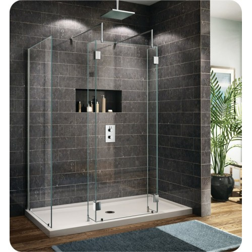 Fleurco V6302 Evolution 6' Walk in Shower Enclosure with 1 Side Glass Panel V6302