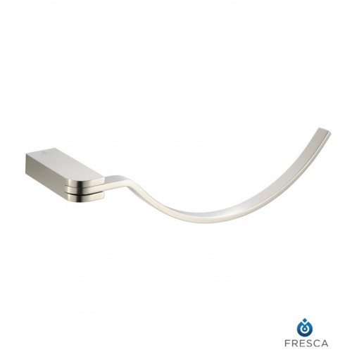 Fresca FAC1362BN Solido Towel Ring in Brushed Nickel