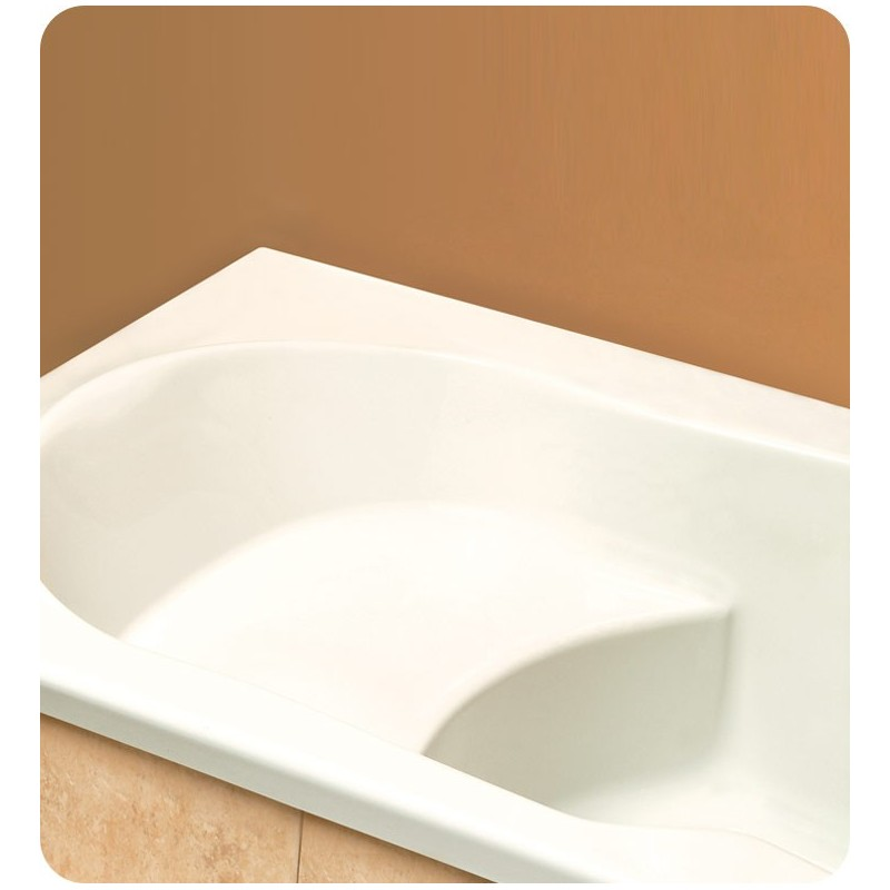 "Neptune AN60 Anna 60"" Customizable Rectangular Bathroom Tub without Integrated Seat"