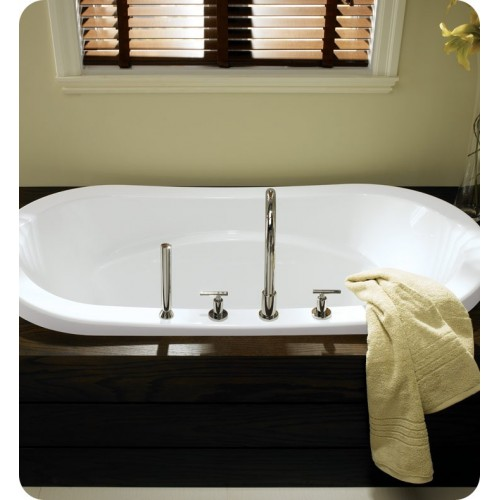 "Neptune REV3672 Revelation 72"" x 36"" Customizable Oval Bathroom Tub"