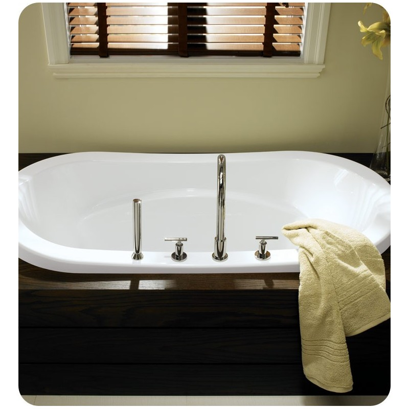 "Neptune REV4272 Revelation 72"" x 42"" Customizable Oval Bathroom Tub"