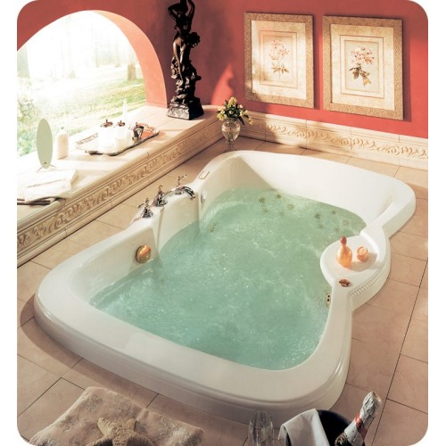 "Neptune ET72 Etna 72"" Customizable Bathroom Tub"