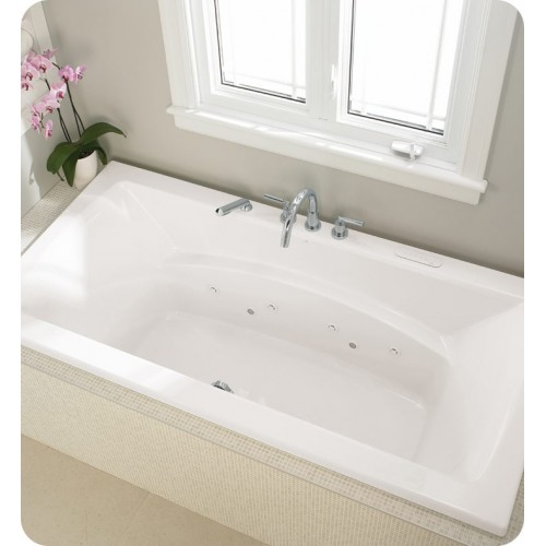 "Neptune BE4266 Believe 66"" x 42"" Customizable Rectangular Bathroom Tub"