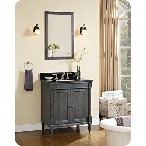 Fairmont Designs 143-V30 Rustic Chic 30 inch Vanity in Silvered Oak
