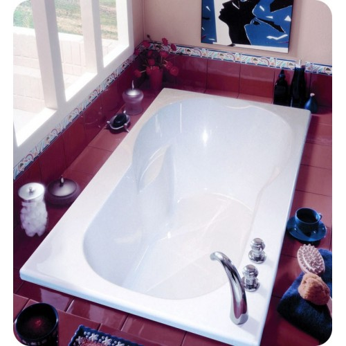 "Neptune JU60 Julia 60"" Customizable Rectangular Bathroom Tub"