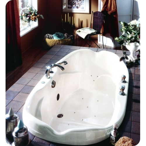 "Neptune EL70 Elysee 70"" Customizable Oval Bathroom Tub"