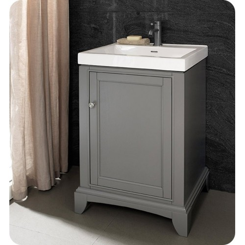 Fairmont Designs 1504-V2118 Smithfield 21 x 18 inch Vanity in Medium Gray