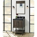 Fairmont Designs 1401-24 Toledo 24 inch Traditional Bathroom Vanity in a Grey Finish