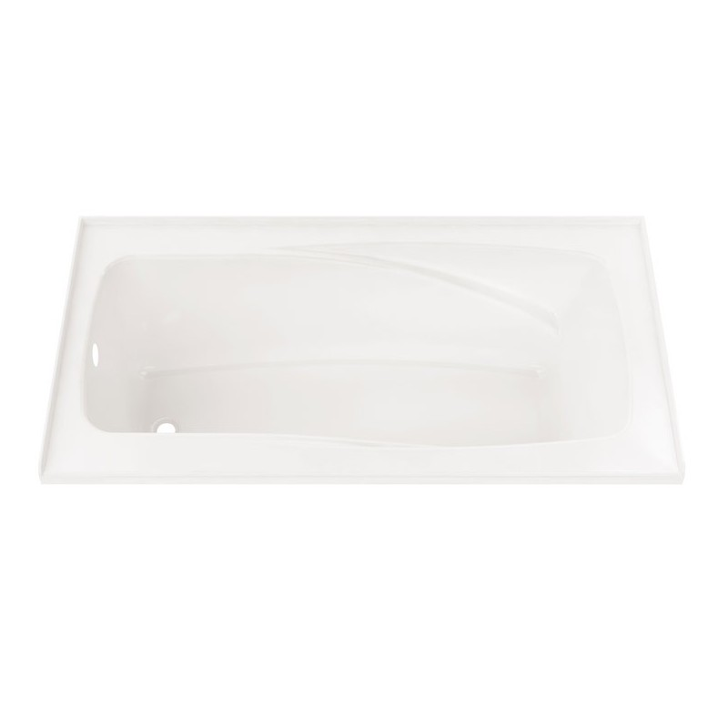 "Neptune E15.16816.4 Entrepreneur Velona 60"" x 36"" Customizable Alcove Jet Bathtub"
