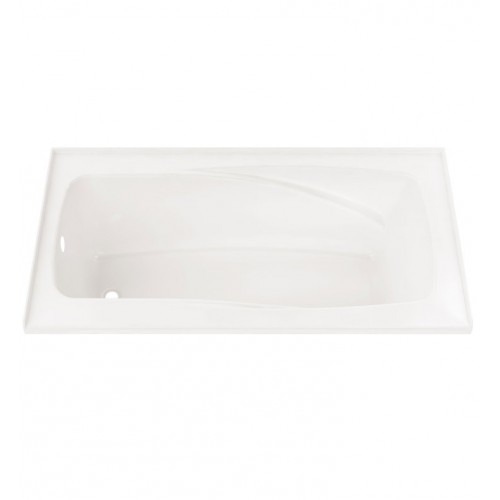 "Neptune E15.16825.4 Entrepreneur Velona 66"" x 36"" Customizable Alcove Jet Bathtub"
