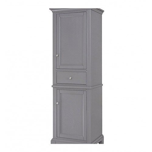 "Fairmont Designs 1504-HT2118_V2118 Smithfield 21"" Linen Tower in Medium Gray"