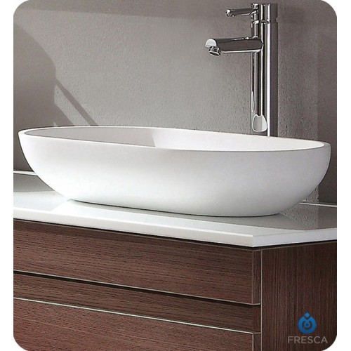 Fresca FVS8054WH White Bathroom Sink