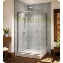 Fleurco FAC36 Signature Capri Frameless Square Corner Entry Shower Doors