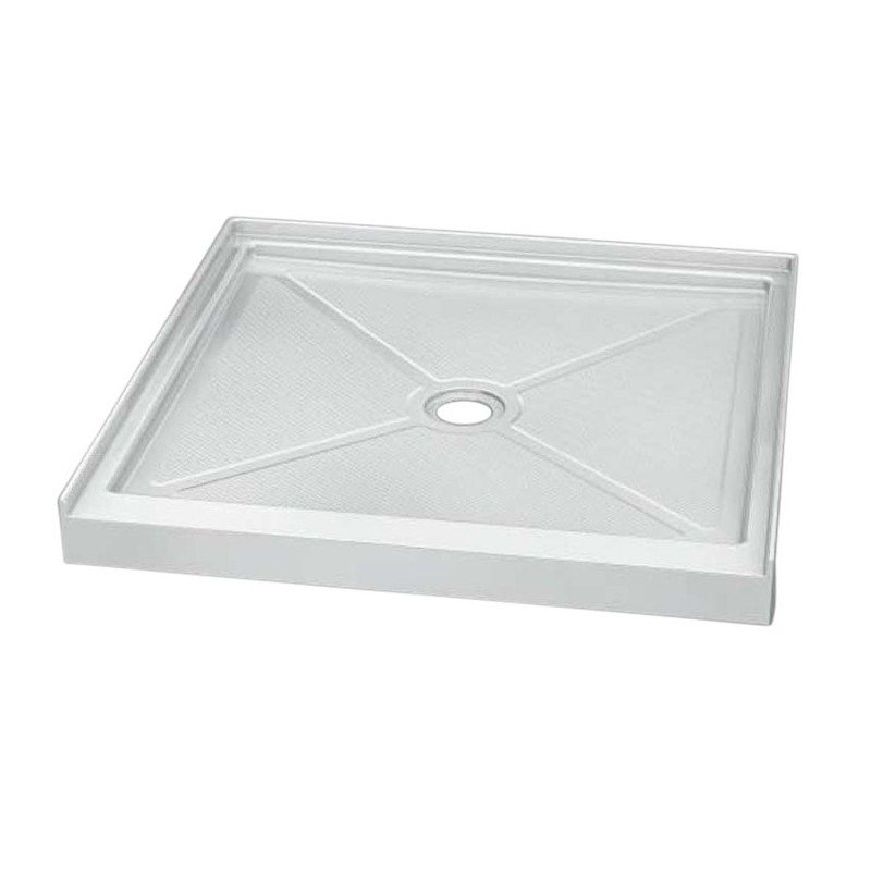 Fleurco ABC36ST Square Acrylic In Line Shower Base