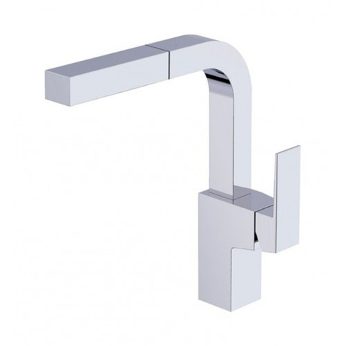 Danze D404562 Mid-town™ Single Handle Pull-Out Kitchen Faucet in Chrome