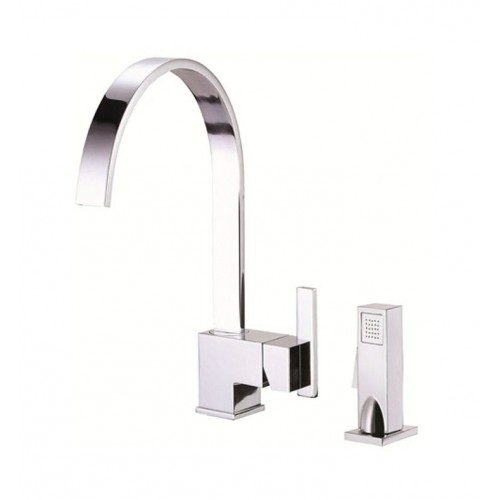 Danze D401544 Sirius™ Single Handle Kitchen Faucet with Spray in Chrome