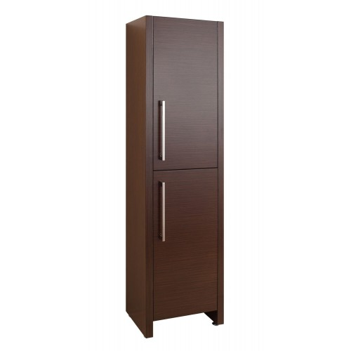 "Delano 16"" Linen Cabinet in Walnut"