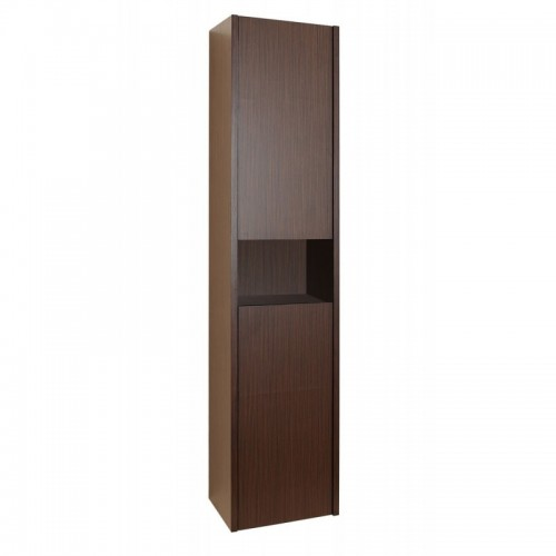 "Delmore 12"" Linen Cabinet in Walnut"