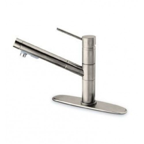 LaToscana 78PW568TSL Elba Kitchen Faucet with Pull Out Spout and Metal Lever Handle