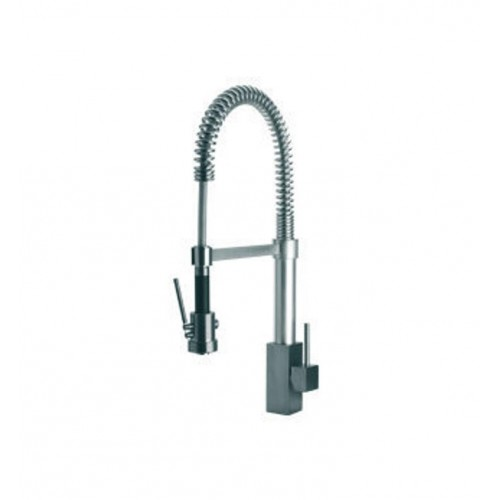 LaToscana 84557LFEX Dax Kitchen Faucet with Pull Down Spring Spout