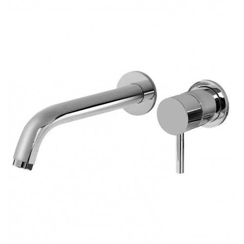 "Graff G-6135-LM41W M.E. L 7 1/2"" Wall Mounted Lavatory Faucet with Single Handle"
