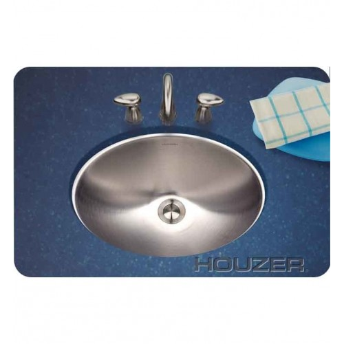 Houzer CH-1800-1 Undermount Oval Bathroom Sink