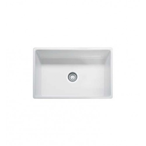 Franke FHK710-30WH White Farm House Single Basin Fireclay Kitchen Sink