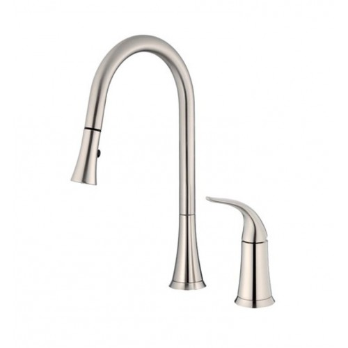 Danze D459022SS Antioch™ Single Handle Pull-Down Kitchen Faucet in Stainless Steel