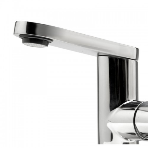 ALFI brand AB1010-PSS Ultra Modern Polished Stainless Steel Bathroom Faucet