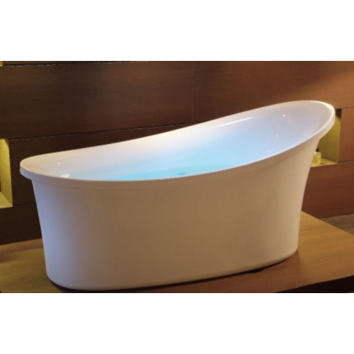 EAGO AM1800 6 ft White Free Standing Air Bubble Bathtub