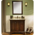 "Fairmont Designs 159-V36R Newhaven 36"" Modern Bathroom Vanity with Right Drawer"