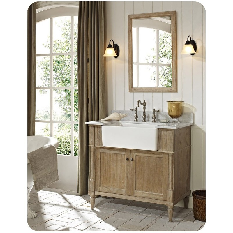 "Fairmont Designs 142-FV36 Rustic Chic 36"" Farmhouse Modern Bathroom Vanity"