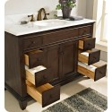 "Fairmont Designs 1503-V48 Smithfield 48"" Modern Bathroom Vanity in Mink"