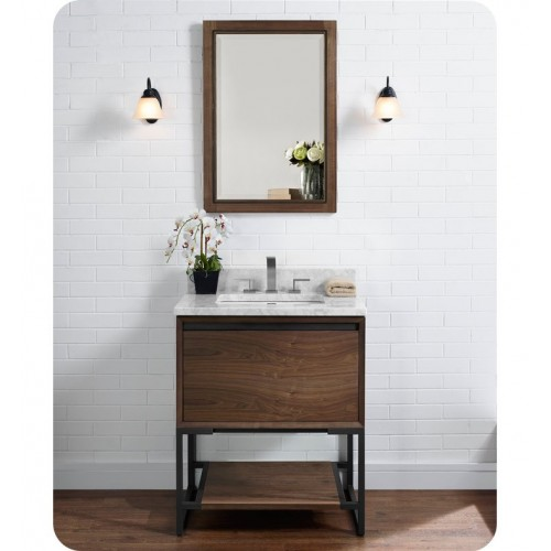 "Fairmont Designs 1505-V30 m4 30"" Vanity in Natural Walnut"