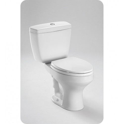 TOTO CST405MF Rowan™ Close Coupled Round Toilet 1.6GPF / 1.0GPF